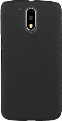 Flipkart SmartBuy Back Cover for Motorola Moto G (4th Generation) Plus(Black, Hard Case, Plastic)