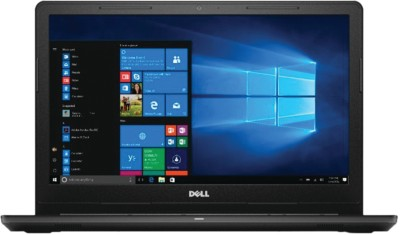 Dell Inspiron 15 3000 APU Dual Core E2 7th Gen - (4 GB/1 TB HDD/Windows 10 Home) 3565 Laptop(15.6 inch, Black, 2.27 kg)