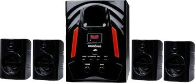 KRISONS JAZZ 4.1 Bluetooth Home Theatre(Black, 4.1 Channel)