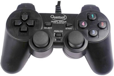 Quantum QHM 7468-2V USB  Gamepad(Black, For PC)