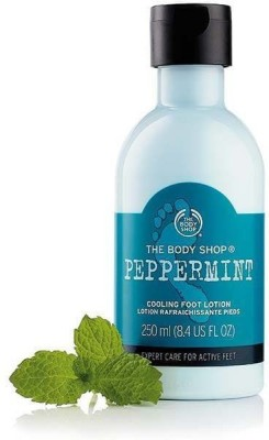 The Body Shop Peppermint Cooling Foot Lotion, 250 ML