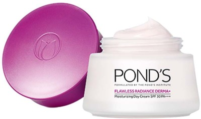 Ponds Flawless Radiance Derma Plus Moisturizing Day Cream(50 g)