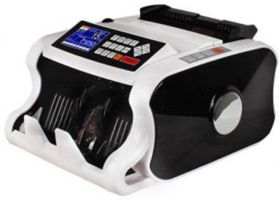 swaggers top 10 Black LCD pro fake note counting machine (Detects Cut Note) Note Counting Machine(Counting Speed - 1000 notes/min)