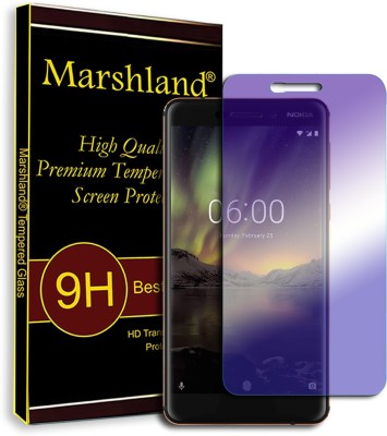 Marshland Tempered Glass Guard for Nokia 6.1(Pack of 1)