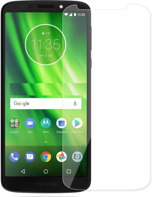 Lilliput Tempered Glass Guard for Motorola Moto G6 Play(Pack of 1)