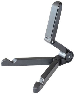 Freya Adjustable Stand Portable Desk MOUNT BRACKET WITH MULTI ANGLE CRADLE design for TABLETS IPAD ,MOBILES Tripod(Black, Supports Up to 1000 g) 1