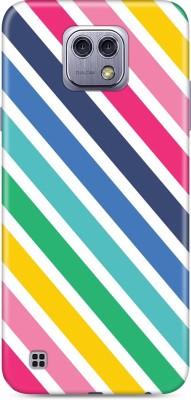 KVOICE Back Cover for LG X Cam Multicolor