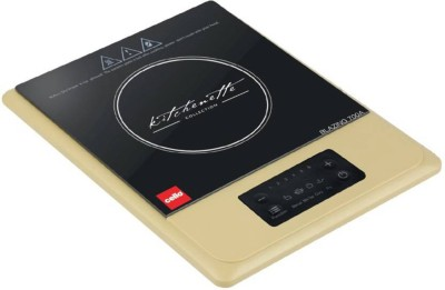 Cello Blazing 700A Induction Cooktop, Black & Gold