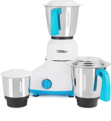 Billion PowerGrind MG110 550 W Mixer Grinder(White, 3 Jars)
