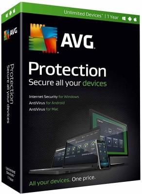 AVG Total Security 10.0 User 1 Year(Voucher) at flipkart