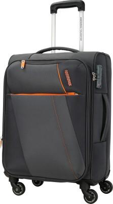 American Tourister Michigan SP57CM TSA Expandable  Cabin Luggage - 22 inch(Grey)