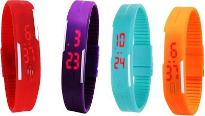 Arihant Retails LED Digital band watch PK-272 Led Digital Wrist Band Watch Digital Watch  - For Men & Women