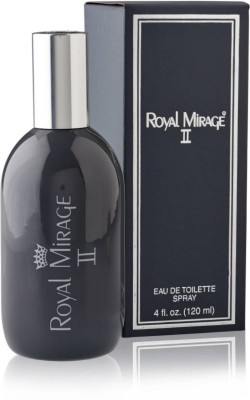 Royal Mirage II Gray Eau De Cologne For Men & Women -120ml Perfume Body Spray  -  For Men & Women(120 ml) Flipkart