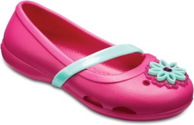 var man kan köpa super specialerbjudanden ingen försäljningsskatt Crocs Girls Slip-on Flats(Pink, Black - flipkart.com - imall.com