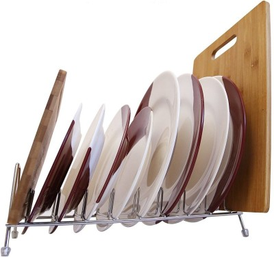 Continental Stainless Steel Kitchen Organizer - Dish Drainer - Kitchen Racks & Shelves - 2 Tier 54CM-S Stainless Steel Kitchen Rack(Silver)