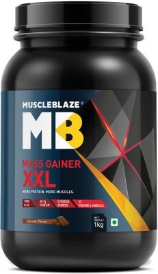 MuscleBlaze Mass Gainer XXL Weight Gainers/Mass Gainers(1 kg, Chocolate)