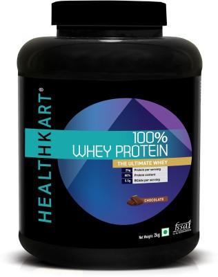 Healthkart 100% Whey Protein(2 kg, Chocolate)