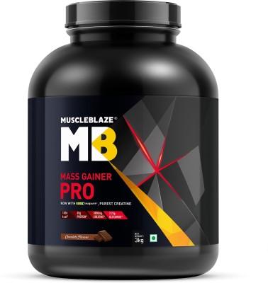 MuscleBlaze Mass Gainer Pro (3Kg, Chocolate)