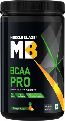 MuscleBlaze BCAA Pro (450gm, Pineapple)