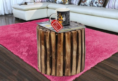Onlineshoppee Solid Wood Bar Stool(Finish Color - Brown)