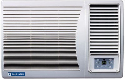 View Blue Star 2 Ton 2 Star BEE Rating 2018 Window AC  - White(2W24GA, Copper Condenser)  Price Online