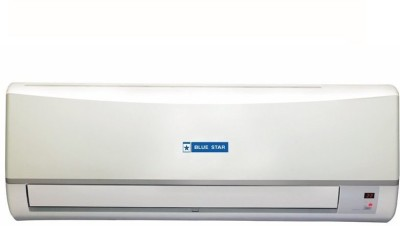 Blue Star 1.5 Ton 3 Star BEE Rating 2018 Split AC  - White(3CNHW18CAFU, Copper Condenser)   Air Conditioner  (Blue Star)