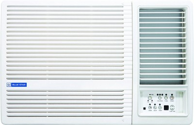 View Blue Star 1.5 Ton 3 Star BEE Rating 2018 Window AC  - White(3W18LD, Copper Condenser)  Price Online