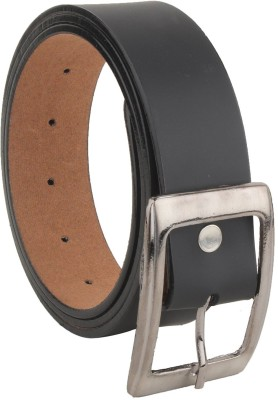 Variety Men Evening, Party, Casual Black Artificial Leather Belt