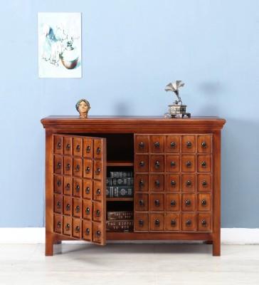 Balaji Solid Wood Free Standing Sideboard(Finish Color - Honey)