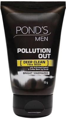 Ponds Men Pollution Out Deep Clean Face Wash (50GM)
