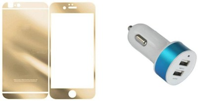 Mudshi Screen Protector Accessory Combo for Apple iPhone 5s Multicolor