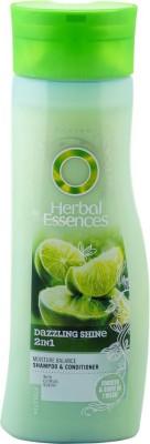 Herbal Essences DAZZLING SHINE 2IN1 SHAMPOO & CONDITIONER(400 ml)