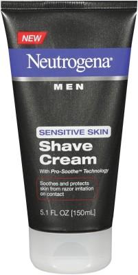 Neutrogena Men Sensitive Skin Shave Cream - 150ml (5.1oz)(150 ml)