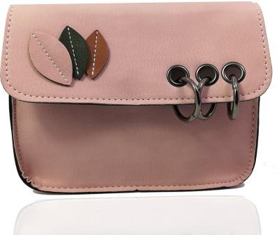 1ae4b8b5e04 65% OFF on Uno Covers Girls Evening/Party, Casual, Formal Pink Rexine Sling  Bag on Flipkart | PaisaWapas.com