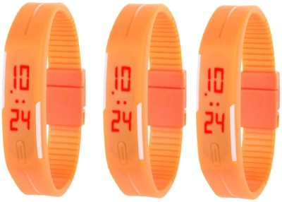 Fashion Gateway LED Digital band watch PK-167 (for all age group) Watch  - For Boys & Girls