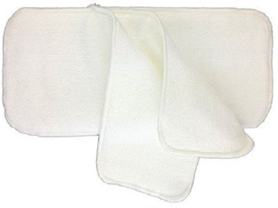 WonderKart 3 layered Soft Cotton Baby Diaper pads/Insert Adult Diapers   M 2 Pieces