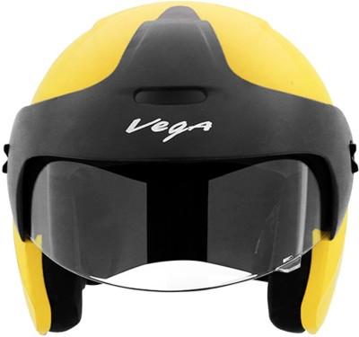VEGA Junior Buds O/F Motorbike Helmet(Yellow)