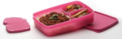 Signoraware 514pink 3 Containers Lunch Box