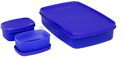 Signoraware 514purple 3 Containers Lunch Box