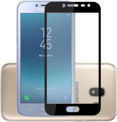 Case Creation Edge To Edge Tempered Glass for Samsung Galaxy J2 (2018) J250(Pack of 1)