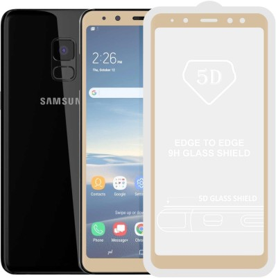 "Case Creation Edge To Edge Tempered Glass for Samsung Galaxy A8 5.6""inch 2018(Pack of 1)"