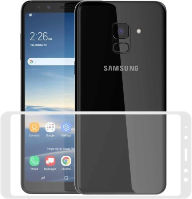Case Creation Edge To Edge Tempered Glass for Samsung Galaxy A6(Pack of 1)