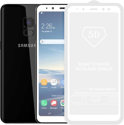Case Creation Edge To Edge Tempered Glass for Samsung Galaxy A6 2018(Pack of 1)