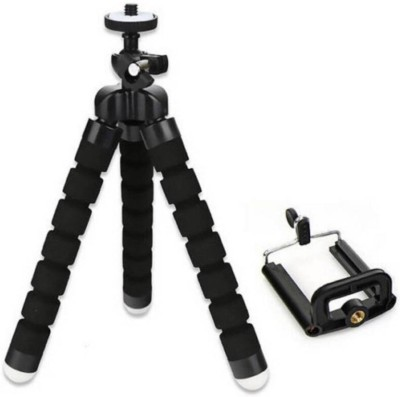 Totu Flexible Tripod Tripod(Black, Supports Up to 500 g) 1