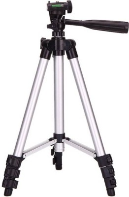 Doodads Universal Professional Tripod - 3110 Portable & Foldable Camera - Mobile Tripod With Mobile Clip Holder Bracket , Fully Flexible Mount Cum Tripod , Standwith Three-dimensional Head & Quick Release Plate Only 150 gm + Black Carry Bag for Canon Nikon Sony Cameras Camcorders iPhone & Androids T 1