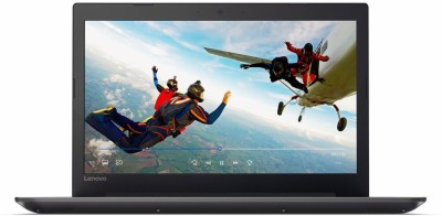 Lenovo Ideapad 320 APU Quad Core E2 7th Gen - (4 GB/1 TB HDD/Windows 10 Home/512 MB Graphics) 80XV010DIN Thin and Light Laptop(15.6 inch, Onyx Black)