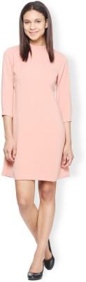 Van Heusen Women Shift Pink Dress