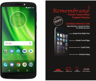 Remembrand Impossible Screen Guard for Motorola Moto G6(Pack of 1)