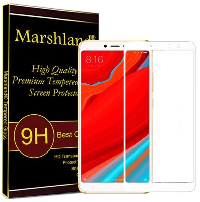 Marshland Tempered Glass Guard for Xiaomi Redmi S2 5D (White)