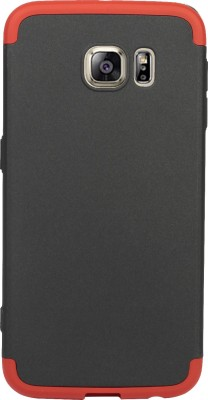Flipkart SmartBuy Back Cover for Samsung Galaxy S6(Black, Red, Shock Proof, Plastic)